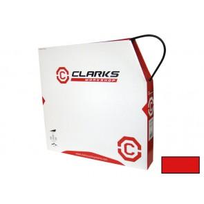 CLARK's SP4 pancerz przerzutki z teflonem 4mm czerwony