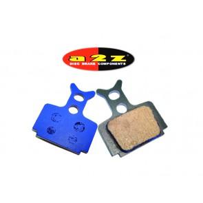 A2Z AZ-330 Formula Mega & THE ONE/ R1/RX/R0 Blue klocki hamulcowe