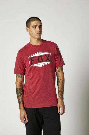 T-shirt FOX Emblem Tech chili
