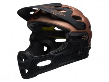 KASK BELL SUPER 3R MIPS matte gloss cooper black