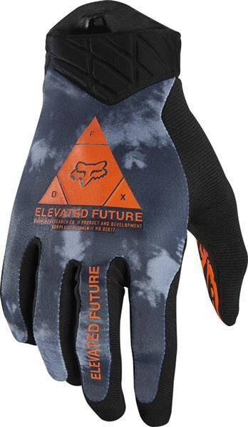Rękawiczki FOX Flexair Elevated S niebieskie