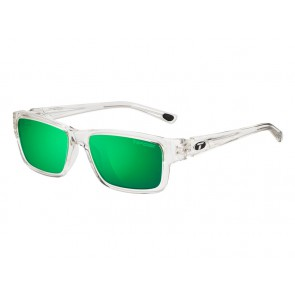 Okulary TIFOSI HAGEN CLARION POLARIZED crystal clear (1szkło Clarion Green POLARYZACJA 12% trasnmisja światła) (DWZ)