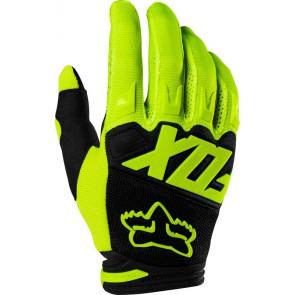 Rękawice Fox Junior Dirtpaw Race Flo Yellow Ym