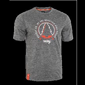 Koszulka RANGER NEW SANITIZED® szary melanż – pomarańczowy M