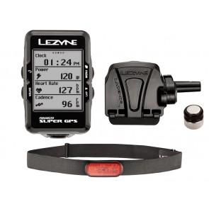 Komputer rowerowy LEZYNE Super GPS HRSC Loaded