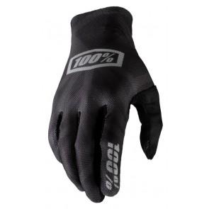 Rękawiczki 100% CELIUM Glove black silver roz. L (długość dłoni 193-200 mm) (NEW)