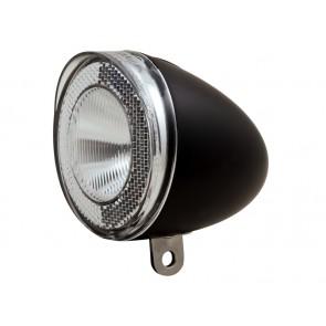 Lampka przednia SPANNINGA SWINGO XDO 10luxów/ 50 lumenów pod dynamo czarna