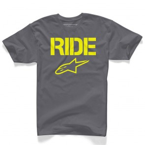 ALPINESTARS RIDE SOLID TEE CHARCOAL koszulka