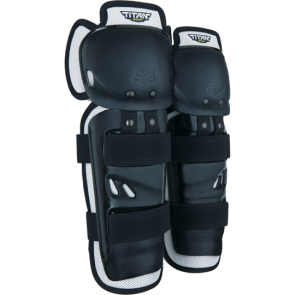 Ochraniacz kolan FOX Junior Titan Sport czarny