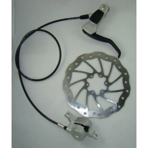 Hamulec hydrauliczny MAGURA LOUISE PRZÓD tarcza 160SL PM74(Manitou) srebrna