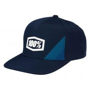 Czapka z daszkiem 100% CORNERSTONE Snapback Hat Navy (NEW)