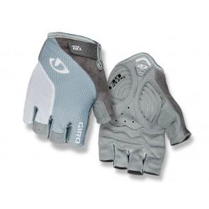 Rękawiczki damskie GIRO STRADA MASSA SG krótki palec titanium grey white roz. S (obwód dłoni 153-169 mm / dł. dłoni 153-160 mm) (NEW)
