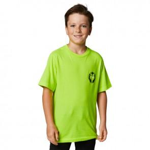 T-shirt FOX Junior Nobyl żółty