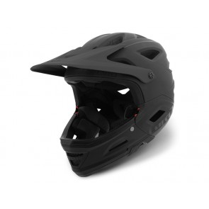 Giro 2018 Switchblade Integrated Mips kask matte black gloss black-L