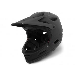 Giro 2018 Switchblade Integrated Mips kask matte black gloss black-L