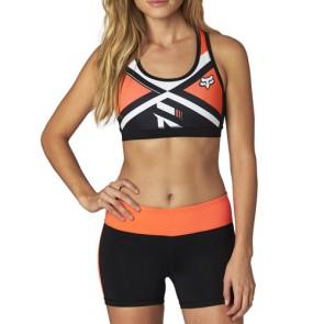 Stanik Sportowy Fox Lady Divizion Tech Sports Flo Orange Xs