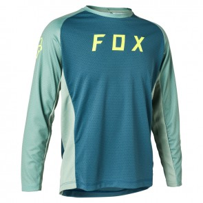Jersey FOX Junior Defend Light Blue