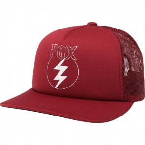 Czapka Z Daszkiem Fox Lady Repented Trucker Dark Red Os