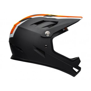 KASK BELL SANCTION agility matte black yellow orange-L