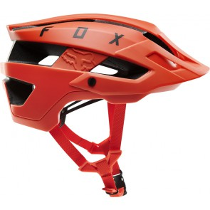 Kask Rowerowy Fox Flux Solid Orange Crush