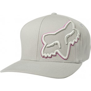 Czapka Z Daszkiem Fox Episcope Flexfit Grey/pink S/m