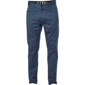 FOX STRETCH CHINO NAVY SPODNIE