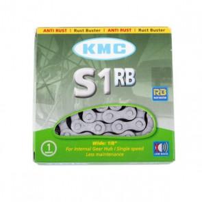 KMC Łańcuch S1RB 112 ogniw srebrny BOX