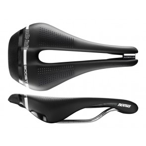 Siodło SELLE ITALIA NOVUS BOOST SUPERFLOW S (id match - S3) ti 316 tube 7, fibra-tek, czarne (NEW)