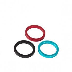 Accent Podkładka dystansowa sterów aluminiowa 5mm 10szt., niebieska