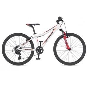 """A-MATRIX SL 24 12,5"""" biało/czerwony, rower AUTHOR'19"""