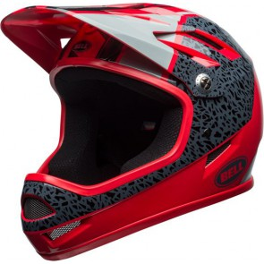 Bell 2018 Sanction kask Gloss Hibiscus Reparation