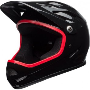 Bell 2018 Sanction kask gloss black hibiscus