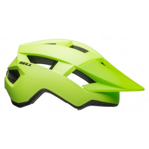 BELL SPARK matte bright green black kask