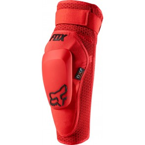 FOX LAUNCH PRO D3O ELBOW-czerwony-L