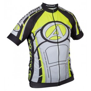 Koszulka AUTHOR ARP czarno-żółto-biała XXXL