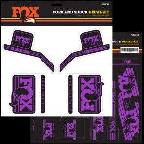FOX FOX Decal 2016 AM Heritage Fork and Shock Kit