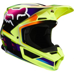 Kask Fox V-1 Gama Yellow