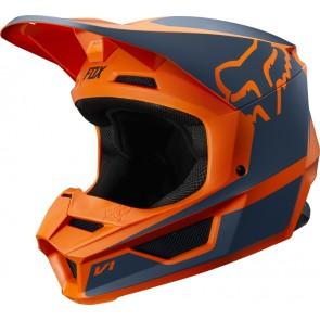 FOX V-1 PRZM kask pomarańczowy