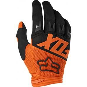 FOX DIRTPAW RACE JUNIOR rękawiczki pomarańczowy