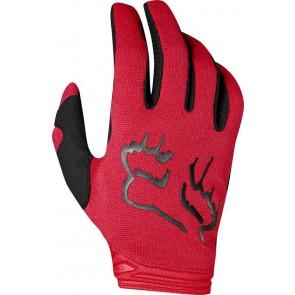 FOX DIRTPAW MATA LADY rękawiczki-czerwony-M