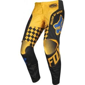 FOX 180 CZAR spodnie-żółty-34