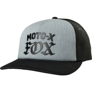 FOX LADY MOTO X HEATHER GRAPHITE CZAPKA