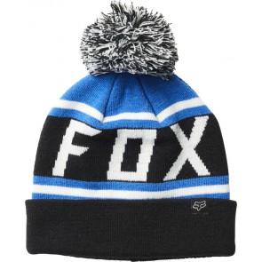 FOX THROWBACK BLACK/BLUE CZAPKA ZIMOWA