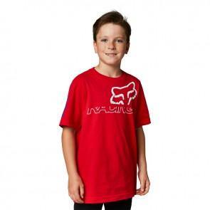 T-shirt FOX Junior Skew czerwony