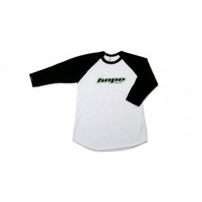Hope T-shirt Baseball Tee Hope Word Biało-czarny L