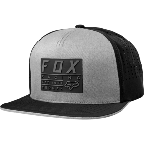 FOX REDPLATE TECH STEEL GREY CZAPKA