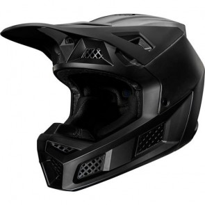 Fox Kask V-3 Composite Solid Matte Black
