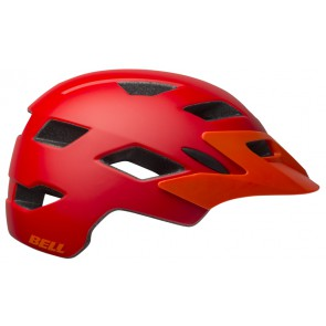 Kask juniorski BELL SIDETRACK matte red orange roz. Uniwersalny (50–57 cm) (NEW)