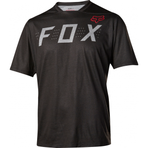 FOX 2017 Indicator Heather Black koszulka czarna-S