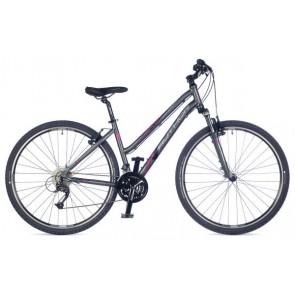 "INTEGRA 19"" grafitowy mat, rower AUTHOR'18"